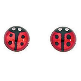 925 Silver Ladybug Earring