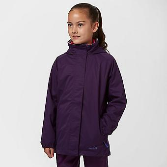 Purple Peter Storm Girls' Wendy II Waterproof Jacket