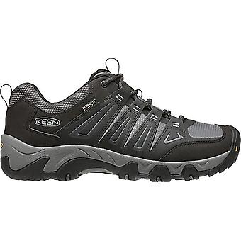 Keen Oakridge Waterproof Mens Shoes Magnet/Gargoyle