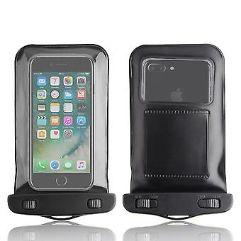 InventCase vattentät dammtät väska skyddande fallet täcker för iPhone 7 / iPhone 7 Plus 2016 - svart