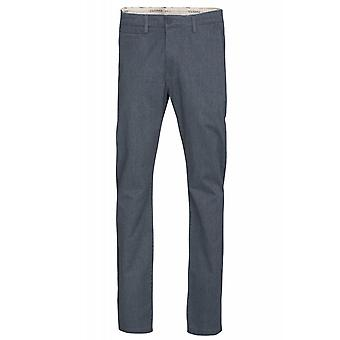 Gris de Chinohose Lee Chino slim pantalones de los hombres slim fit