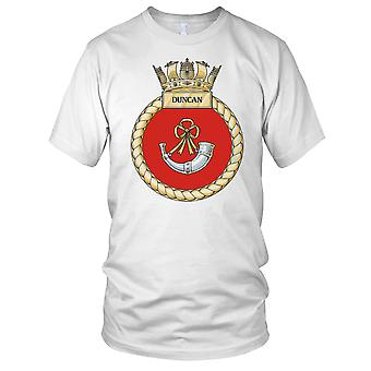 Royal Navy HMS Duncan Kids T Shirt