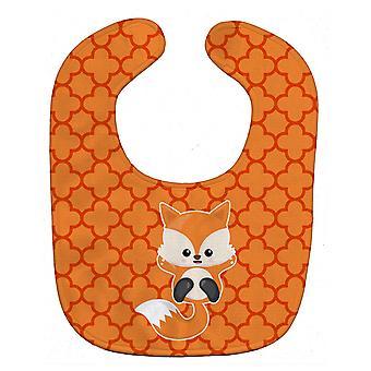 Carolines schatten BB7085BIB Baby Fox Quatrafoil Baby slabbetje