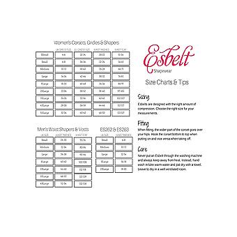 Esbelt ES439 Women's Nude Firm/Medium Control Slimming Shaping Camisole Top