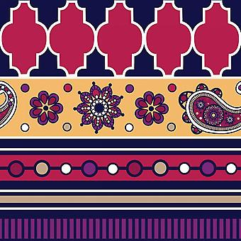 Modern Day Moroccan Gypsy V Poster Print by ND Art and Design