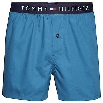 Tommy Hilfiger Icon Woven Boxer Short, Lyons Blue, Small