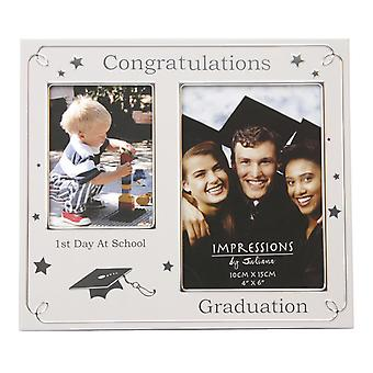 Widdop Juliana 2 Tone 1st Day At School And Graduation Photo Frame