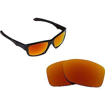 JUPITER SQUARED Replacement Lenses Red Mirror by SEEK fits OAKLEY Sunglasses