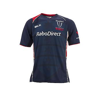 BLK melbourne Rebels rugby training t-shirt