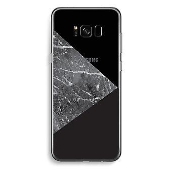 Samsung Galaxy S8 Plus Transparent Case (Soft) - Marble combination