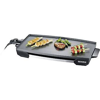 Table Electric grill Severin KG 2397 with manual temperature settings Stainless steel (brushed), Black