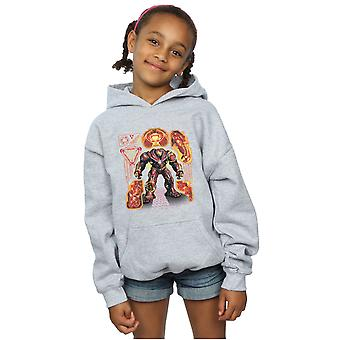 Marvel Girls Avengers Infinity War Hulkbuster Blueprint Hoodie