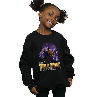 Marvel Girls Avengers Infinity War Thanos Character Sweatshirt