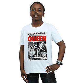 Koningin jongens huidige informatieve T-Shirt