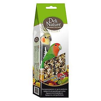 Deli Nature Barritas para Agapornis Fruta y Miel (Birds , Bird Treats)