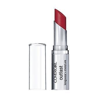 Covergirl Outlast Longwear + Moisture Lipstick 925 Red Rouge 0.12oz / 3.4g