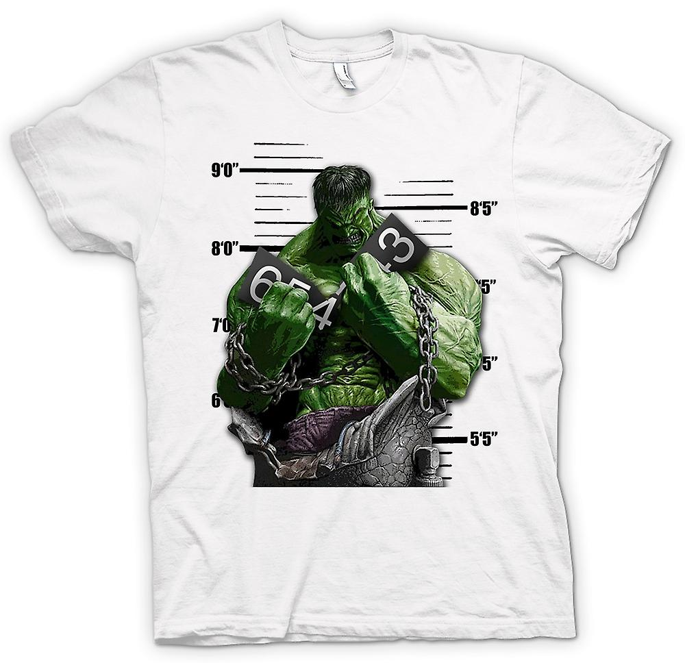 Womens T-shirt - The Hulk - Cartoon - Chains