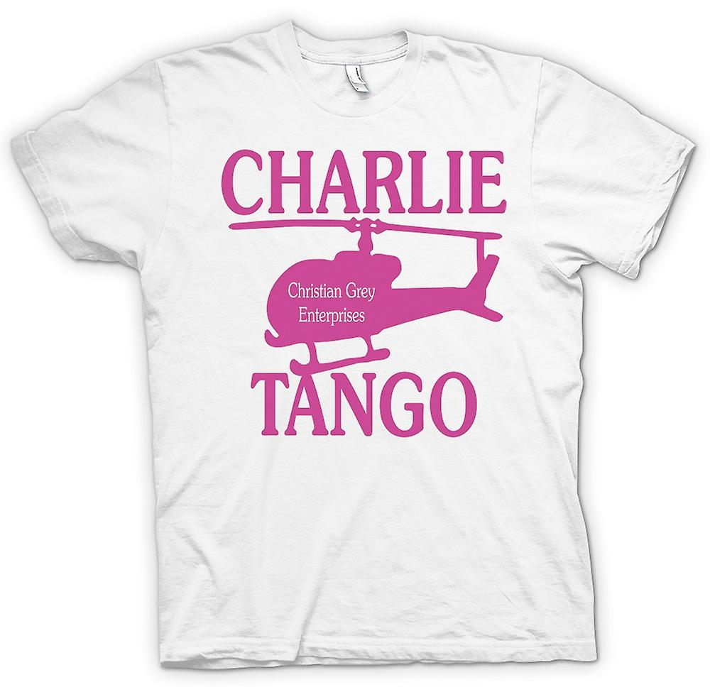 Womens T-shirt - Christian Grey Enterprises - Charlie Tango