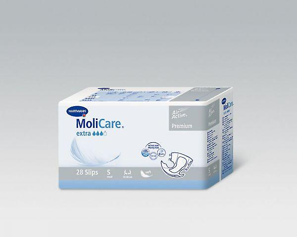 Molicare Softextra | Small | Unisex All-in-1 Incontinence Pads | Pack Of 28