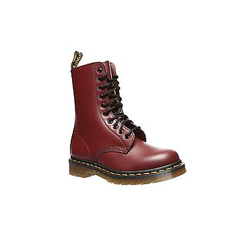 Dr Martens leather boots 1490 smooth boots Red