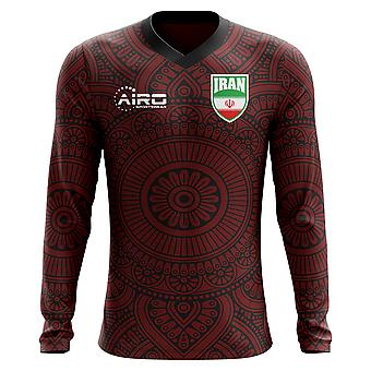 2018-2019 Iran Long Sleeve Away Concept Football Shirt (Kids)