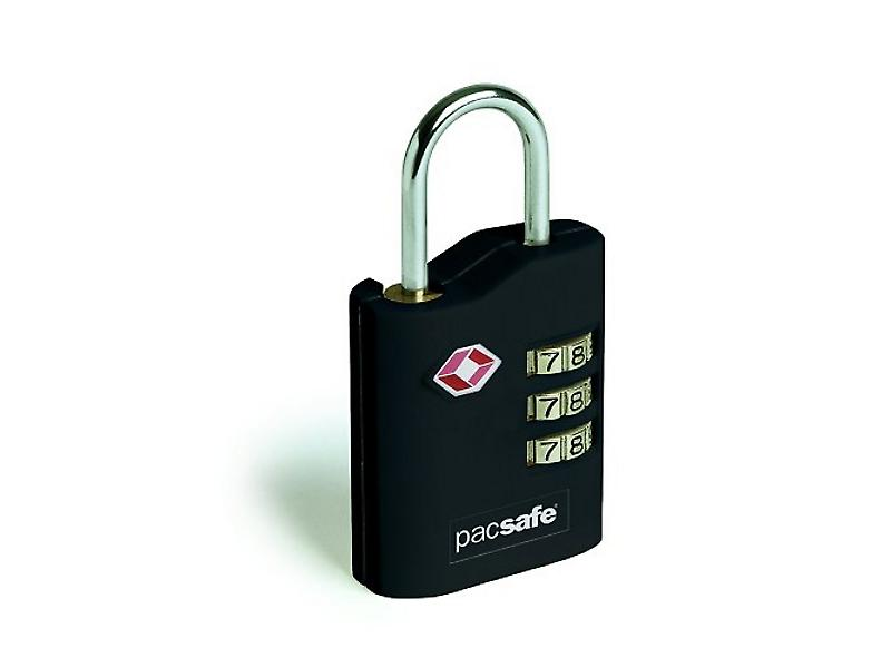 Pacsafe ProSafe 700 Black TSA Approved Combination Padlock