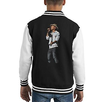 Pharrell Williams Wireless Festival 2014 Kid's Varsity Jacket