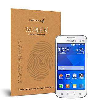 Celicious Privacy 2-Way Visual Black Out Screen Protector for Samsung Galaxy Star 2 Plus