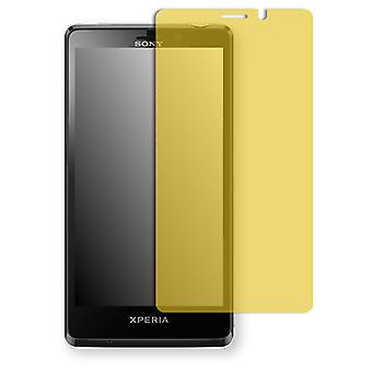 Sony Xperia T screen protector - Golebo view protective film protective film