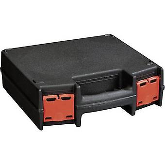 Tool box (empty) Alutec 56630 Plastic Black, Red