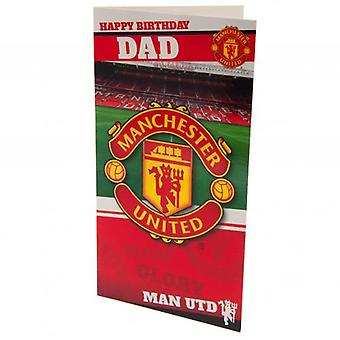 Manchester United Birthday Card Dad