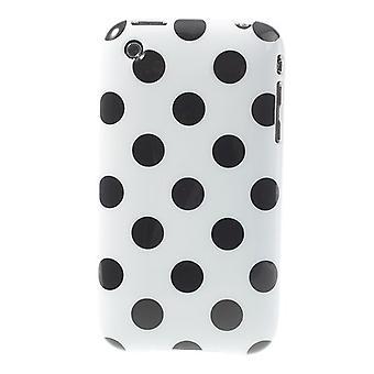 Schutzhülle für Handy Apple iPhone 3 3G 3GS weiß/schwarz