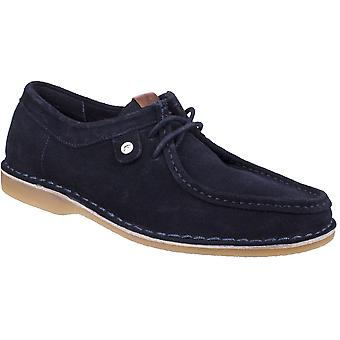 Gabicci Mens Marshall Wallabee Suede Leather Lace Up Shoes