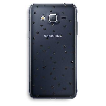 Samsung Galaxy J3 2016 Transparent Case (Soft) - Little cats