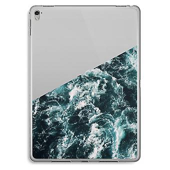 iPad Pro 9,7 inch Transparent Case (Soft) - Ocean Wave