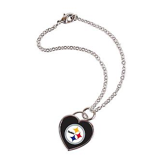 Wincraft ladies 3D heart bracelet - NFL Pittsburgh Steelers