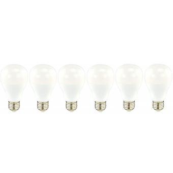 6 x Sylvania GLS A60 14W = 103W LED Light Bulb E27 Cool White 4000K 1580lm [Energy Class A+]