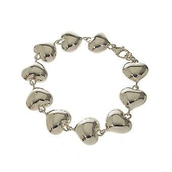 Cavendish French Full of Hearts Silver Bracelet
