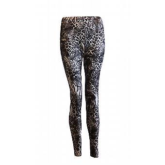 Waooh - Fashion - tiger and leopard print leggings