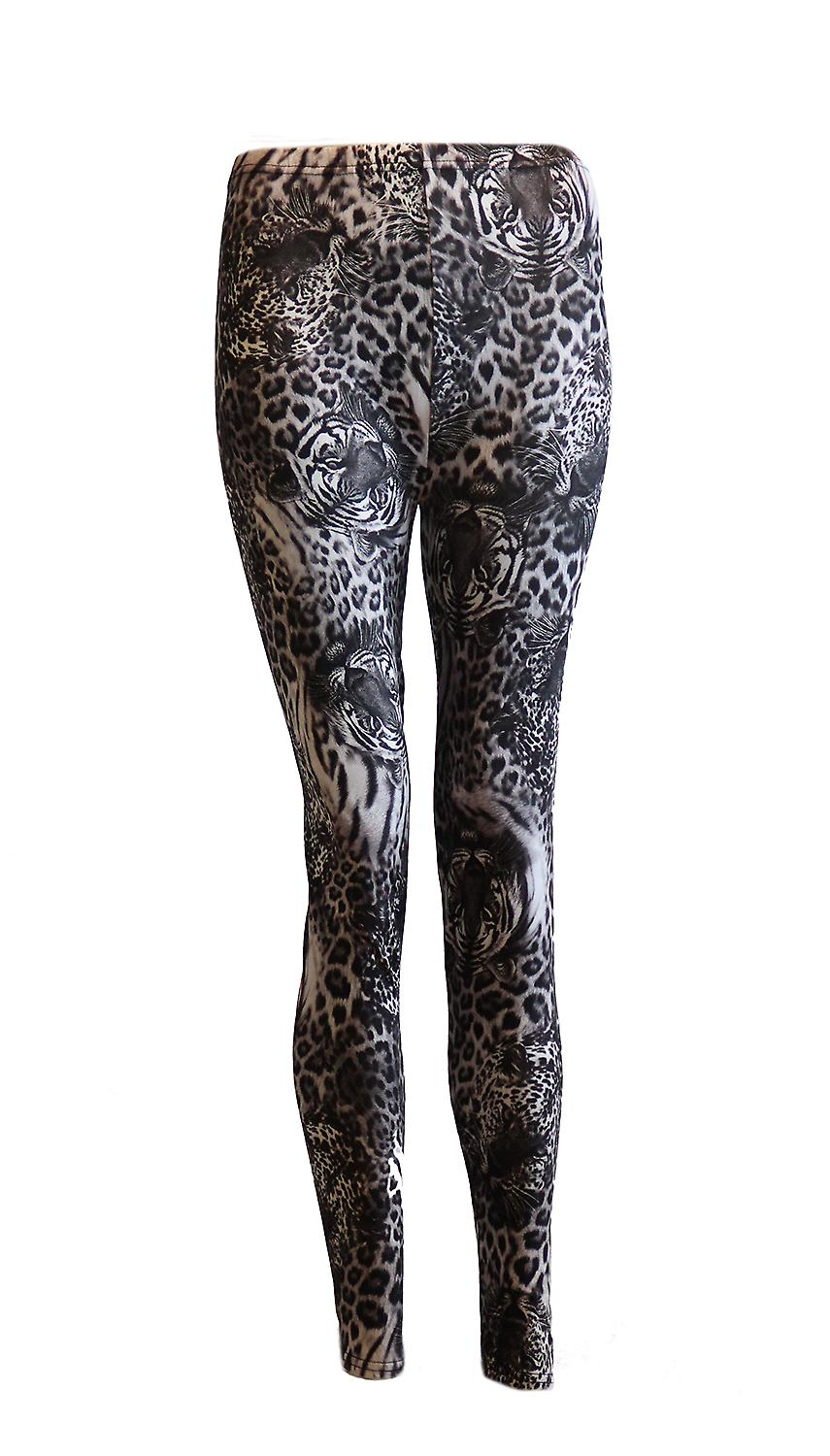 Waooh - Fashion - tiger and leopard print leggings