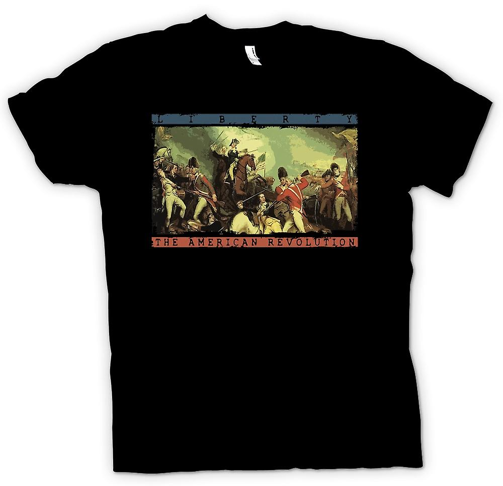Mens T-shirt - Liberty - die amerikanische Revolution