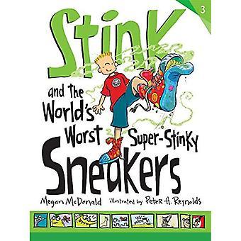 Stinken und der weltweit schlimmsten Super-stinkenden Sneakers (Gestank
