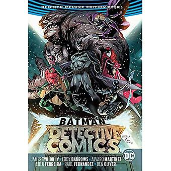 Batman Detective Comics The�Rebirth Deluxe Edition Book 1�(Rebirth)