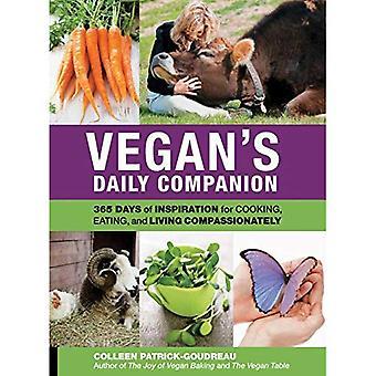 Compagnon quotidien de végétalien: 365 jours d'Inspiration pour cuisiner, manger et vivre avec compassion
