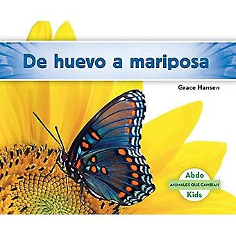 de Huevo a Mariposa (Becoming a Butterfly) (Animales Que Cambian (Changing Animals))