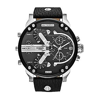 Diesel Analog leather strap DZ7313 Man