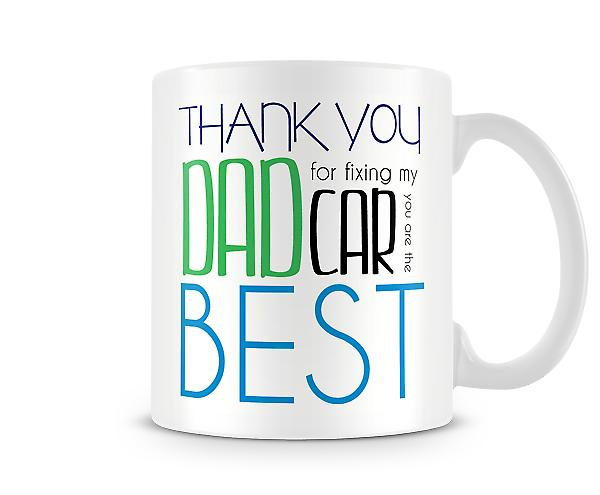 Thank You Dad Printed Mug