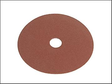 Faithfull Resin Bonded Fibre Disc 125mm x 22mm x 80g (Pack of 25)