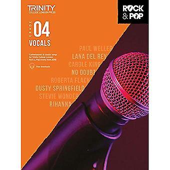 Trinity Rock & Pop 2018 Vocals Grade 4 - Trinity Rock & Pop 2018 (Sheet music)