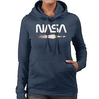 NASA Soyuz-Start Logo Frauen die Kapuzen-Sweatshirt